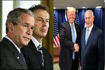 ترامپ و نتانیاهو روی جدید بوش و بلر هستند/ خاورمیانه بار دیگر در آتش فرو میرود؟