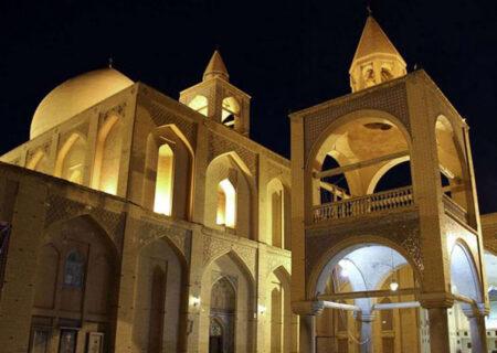 کلیسای وانک بزرگترین جاذبه تاریخی و مذهبی اصفهان+ تصاویر