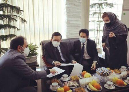 موافقت حناچی با پیشنهاد سفیر تایلندبرای برنامهریزی اجرایی احداث باغ تایلندی در تهران