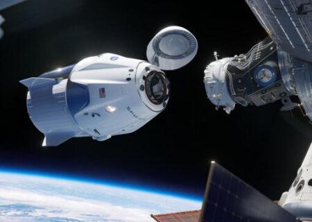 خطری که از بیخ گوش ۴ فضانورد جدید ایستگاه فضایی گذشت