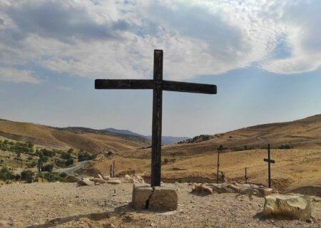 قبرستان ارامنه تلو+ تصاویر