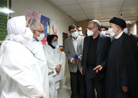 دستور رئیسی برای رفع فوری کمبودهای بهداشتی و درمانی خوزستان + تصاویر